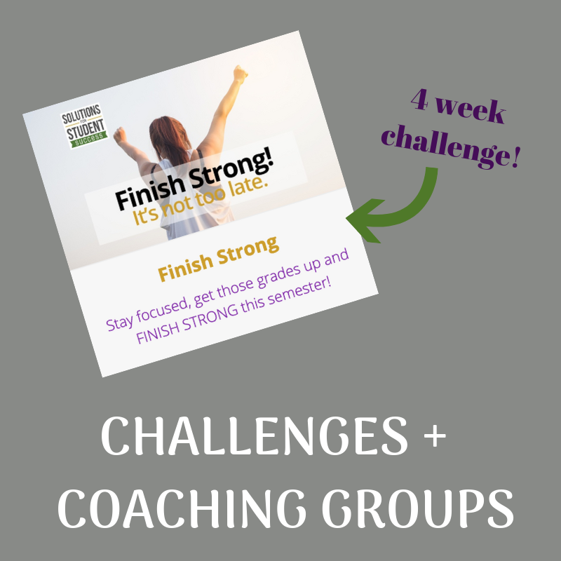 Challenges & Coaching Groups